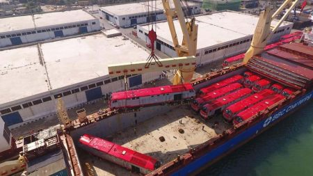 Egypt Receives Fifth Batch Of Locomotives From GE Transportation