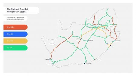 South African Government 'Ready To Open Rail Network By 2022'