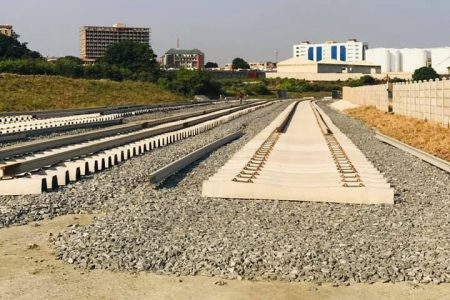 Progress: Tema-Mpakadan Railway Project