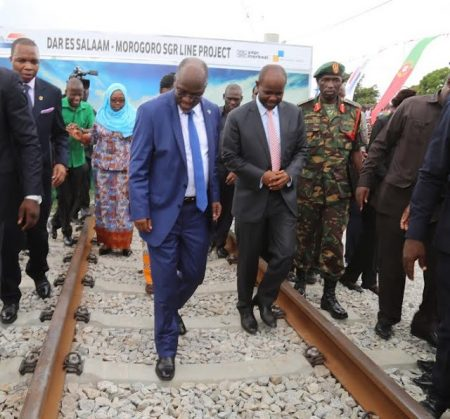 Tanzania Kicks off Standard Gauge Railway Project
