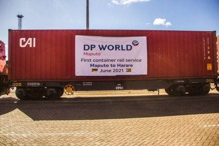 DP World Maputo Launches First Dedicated Logistics Rail Service Between Maputo and Harare