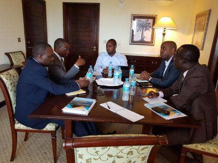 Rwandan Minister Hold Talks With Central Corridor Secretariat