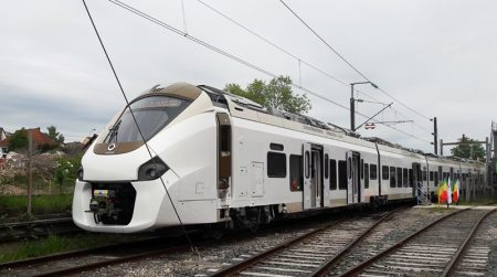 Alstom Starts Testing Of The 1st Coradia Polyvalent Train For Senegal