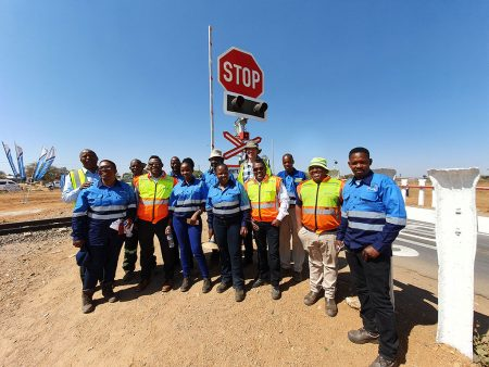 Botswana Railways Officially Commissions Ledumang Level Crossing