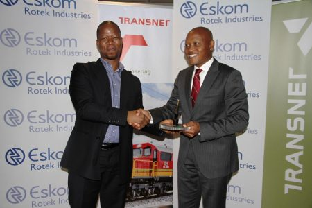 Transnet Engineering MOU With Eskom Rotek Industries
