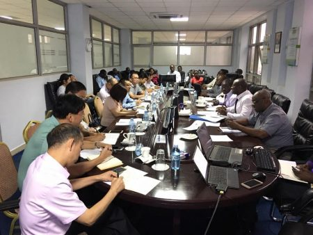 China Exim Bank Appraisal Team - SGR Financing