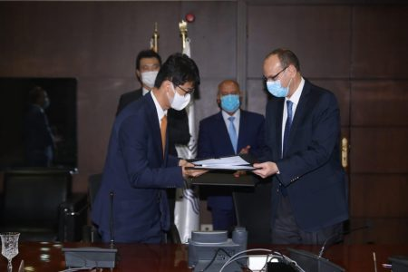 Contract For Signalling And Communication Systems Signed In Egypt