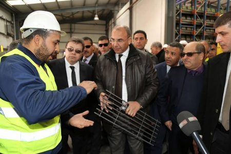 Minister of Public Works and Transport Visits the M'Sila wilaya