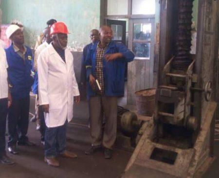 Tanzanian Deputy Minister Visits TAZARA Facilities