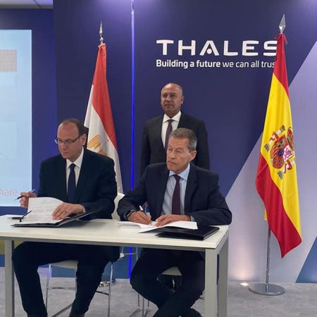 Memorandum of Understanding Between Egyptian National Railways and Thales