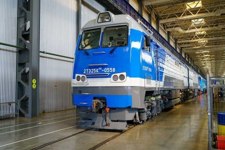 TMH Shipped Class TEP70BS And Class 2TE25KM Diesel Locomotives To Turkmenistan