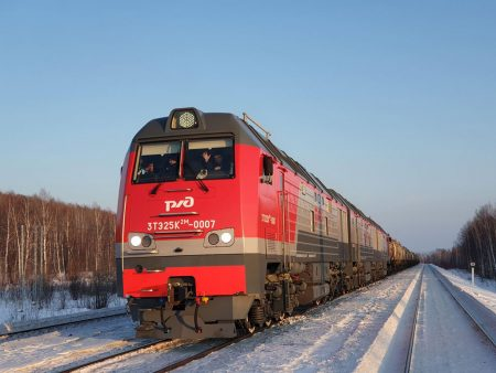 New TMH Locomotives Start Operation in Russia