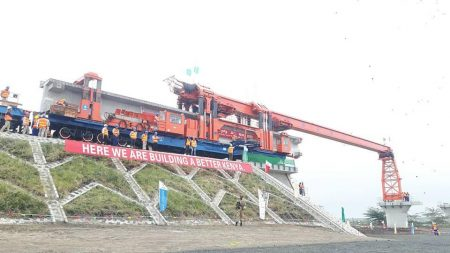 Nairobi to Naivasha Section SGR Heads to Completion Ahead of Schedule