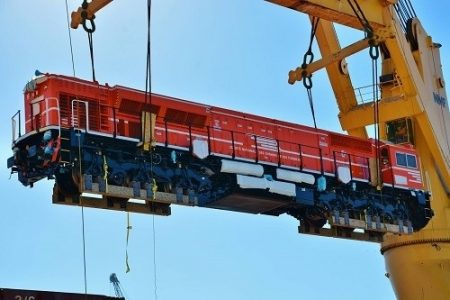 Delivery Of The Second Batch Of Locomotives To The Tunisian Railways