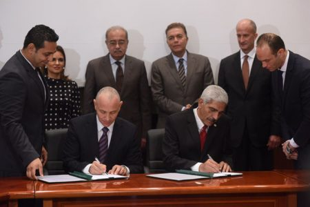 GE Signs Agreement Egyptian National Railways