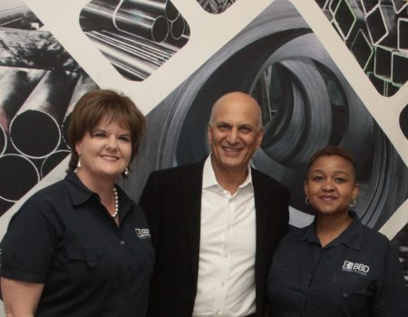 Allied Steelrode Supports Pretoria's 'Sisters Of Steel'