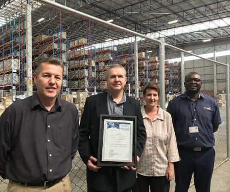 Bolloré Logistic SA Receives TAPA Level C Certificate