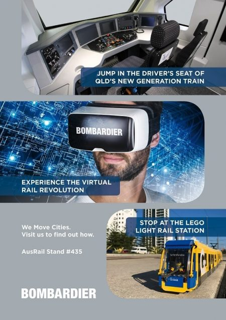 Bombardier's Latest Mobility Solutions Take Center Stage At Ausrail Plus