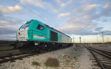 "The Climate Summit's ""Time To Act"" Message Is To Travel On One Of Transfesa Logistics Locomotives"