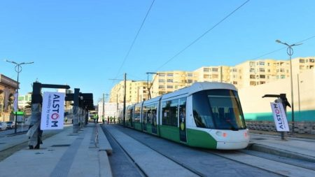 Final Phase Of Dynamic Testing And System Integration On The Extended Stretch Of The Constantine Tramway Line