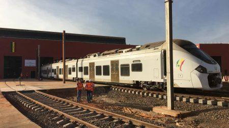 Alstom Celebrates Coradia Polyvalent's First Journey In Senegal With Apix