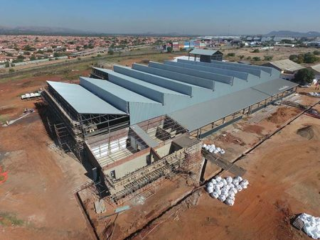 Construction Progress Traxtion Sheltam Rail Services Hub