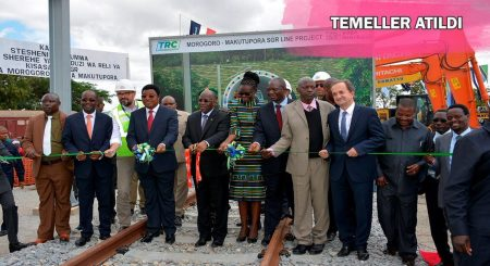 The Tanzania Dar es Salaam-Morogoro Railway Project gets Underway