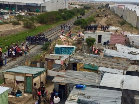 Freight Trains Stopped In Cape Town As Shack Dwellers Fight For Land