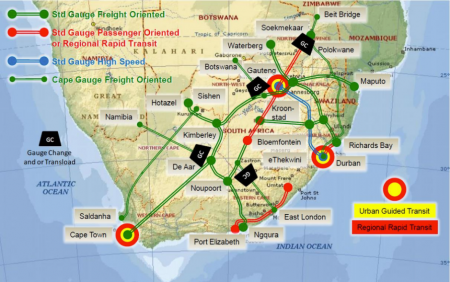 South Africa – High Speed Rail?