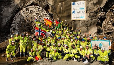 International News - Milestone For Hard Rock Tunnelling: Final Double Breakthrough Follo Line