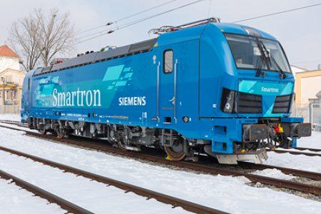 "New Siemens ""Smartron"" locomotive for Germany"