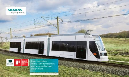 Siemens Tram For Doha Receives iF Design Award