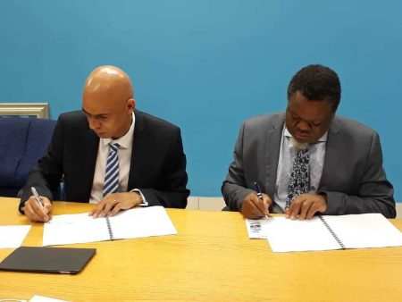 Transnamib And Botswana Railways Sign MoU
