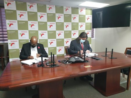 Transnet Engineering Signs Agreement With Caminhos De Ferro De Moçambique