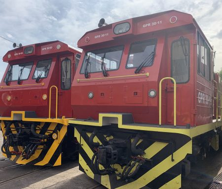 GPR Leasing New Locomotives
