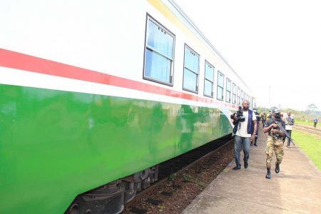 Cameroon Express Train And New Link To Link Mbalam To The Port Of Kribi