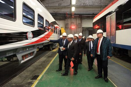 TMH Presents Two Passenger Coach Prototypes To Egypt