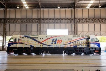 SMH Rail Launches Its Latest Innovation In The 'H10 Series' Locomotive
