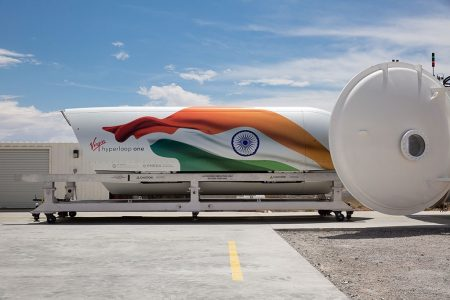 India Advances World's First Passenger Hyperloop System