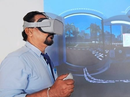 Introducing Pioneering Virtual Reality Technology In Training Occupational Drivers