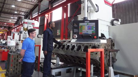Second CNC Machining Centre Commissioned At Metric Automotive Engineering