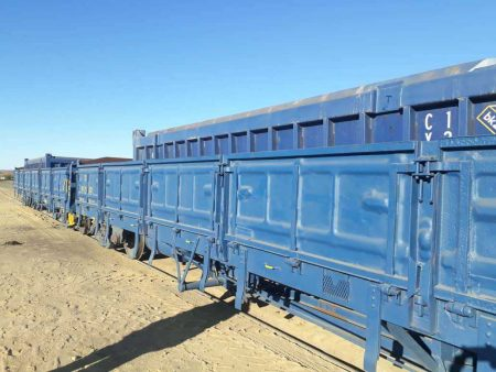 TransNamib Rails First Shipment Of Northern Cape Manganese From Ariamsvlei To Lüderitz