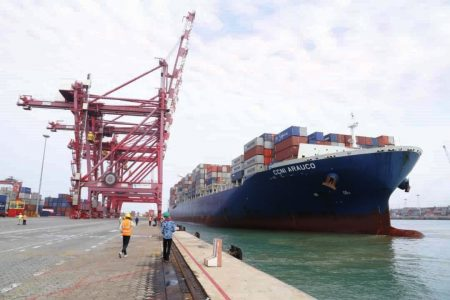 Benin Terminal First Ever 300m Container Ship