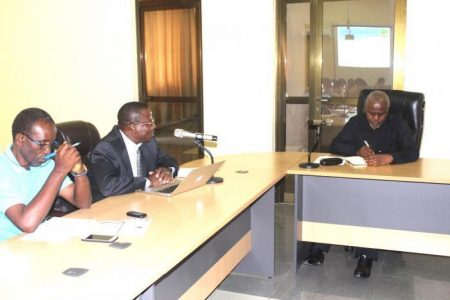 Deputy Minister Of Works, Transport And Communications Visits TAZARA