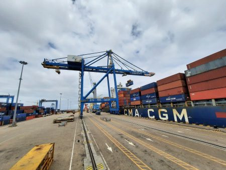 Bolloré Transport & Logistics Cameroun Carries Out A Special Boarding Operation Of 9,000 Tons Of Cotton At The Port Of Kribi