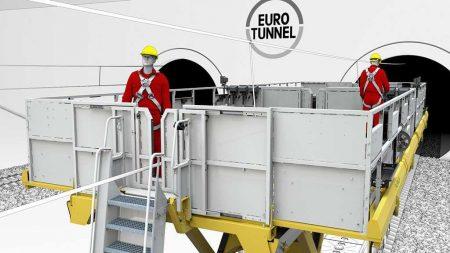 PALFINGER: Custom Model For The Eurotunnel