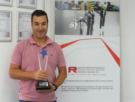 RFI Gets Bosch Service Centre Of The Year Award