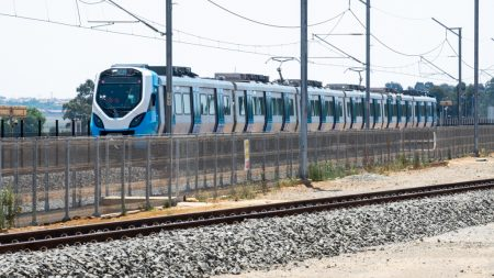Gibela's First SA-Built Commuter Train Nears Completion