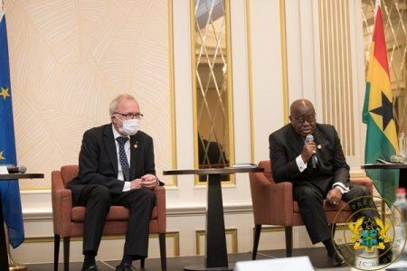 President Akufo-Addo Secures €170 Million For Development Bank, Ghana