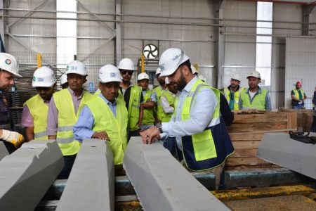 Government Delegation Undertakes A Site Visit Of The Awash-Kombolcha-Hara Gebeya Railway Project